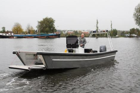 Arbeitsboot Bugklappenboote