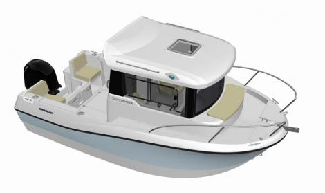 Quicksilver Pilothouse 555
