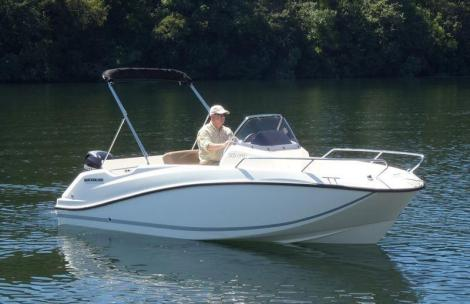 Quicksilver ACTIV 505 OPEN 2017, Mercury 80CV