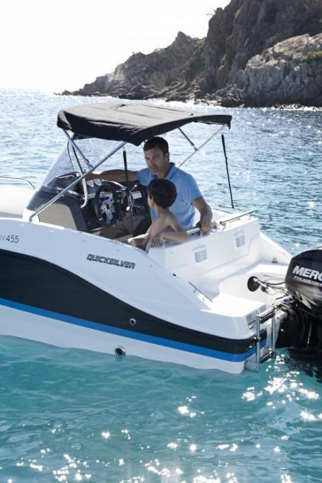 Quicksilver Activ 455 Open / Nuova
