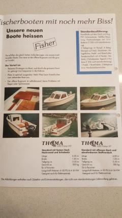 Thoma Fisher 600 ST Fishing Boat