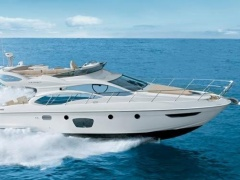 Azimut 47 Fly (2009-2010) CAT C9-575 aus 1 Hand Flybridge Yacht