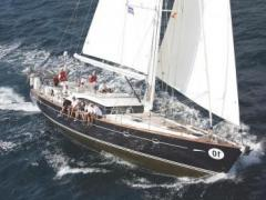 Windboats Oyster 62 UHURU of Lymington Segelyacht