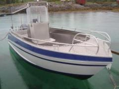 Viking 550 Aluboot Deck Boat