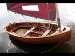Teja Wooden Boats 12-Fuß Dinghy