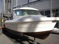 Quicksilver 650 Camping Ponton-Boot