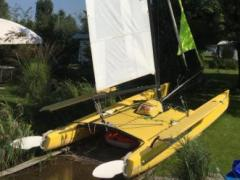 Coast Catamarane Hobie Cat 21 Sailing Yacht
