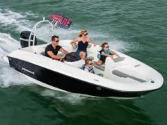 Bayliner E5 mit 60 PS / Voll Sportboot