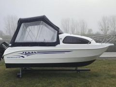 Texas 490 Cabin + 15ps + Extras Sportboot