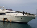 Dominator 680 S - Bj. 2008 Flybridge Yacht